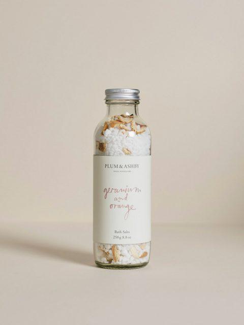 Plum and Ashby Bath Salts