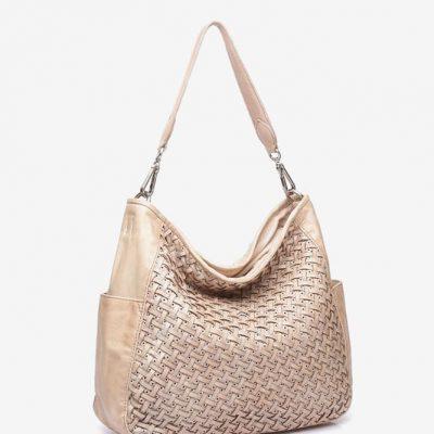 Abbacino Leather Hobo Bag