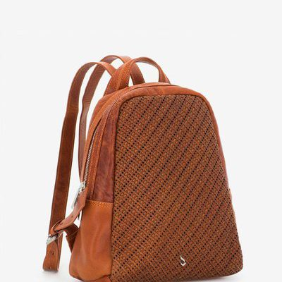 Abbacino Leather Backpack