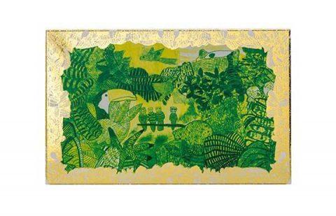 Arthouse Unlimited Chocolate Postcard