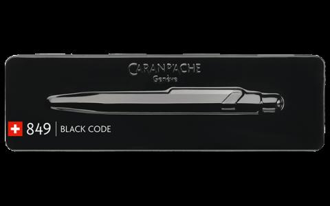 Caran D'ache 849 Black Pen