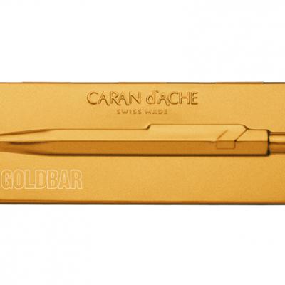 Caran D'ache 849 Goldbar Pen