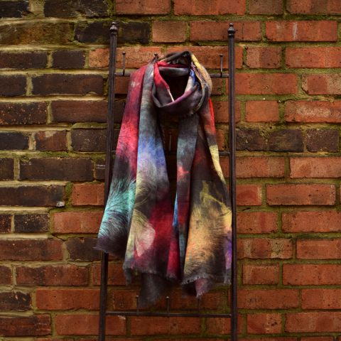 Ombre Sweet Feathers Scarf