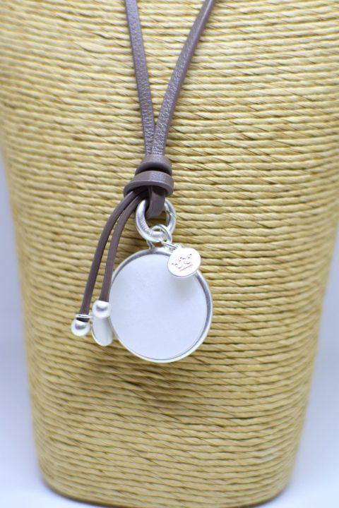 Sence White Jade Necklace