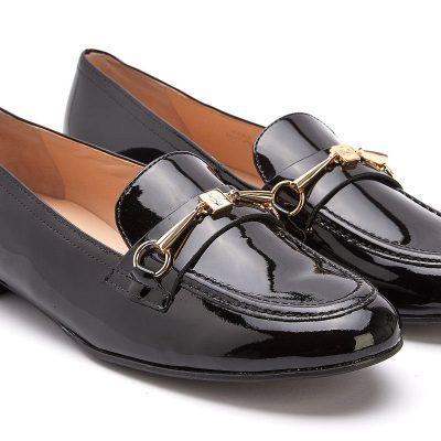 Hogl Black Loafer