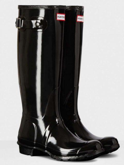 Hunter Gloss Wellington Boots