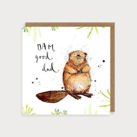 Dam Good Dad Card