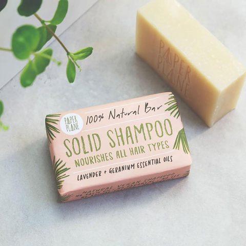 Lavender Geranium Solid Shampoo