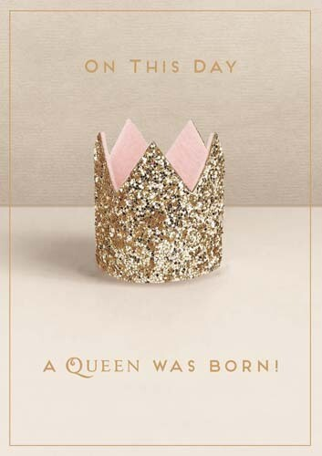 Pigment - Queen Born Card