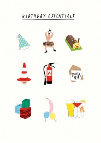 Pigment Birthday Essentials Card