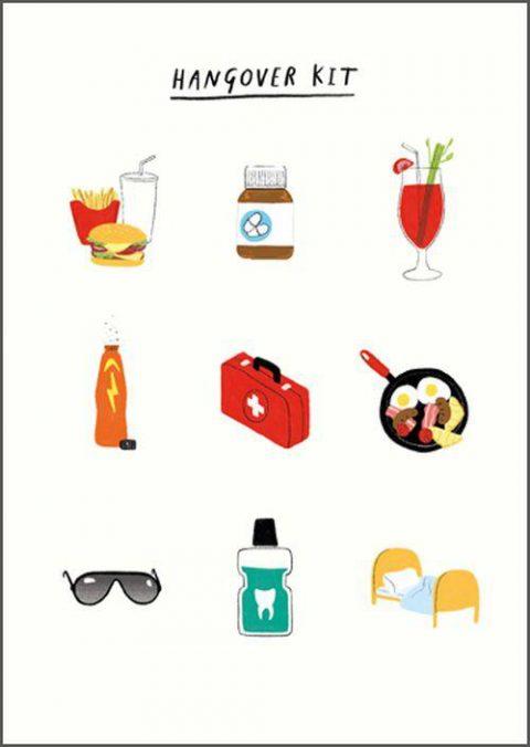 Pigment Hangover Kit Card