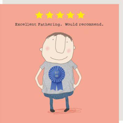 Five Star Dad Card