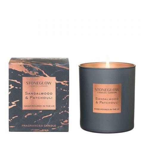 Stoneglow Luna Sandalwood Candle