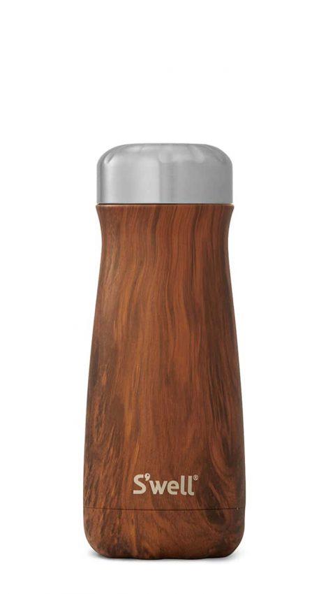 S'well Teakwood Traveler Bottle