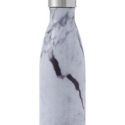S'well White Marble Bottle