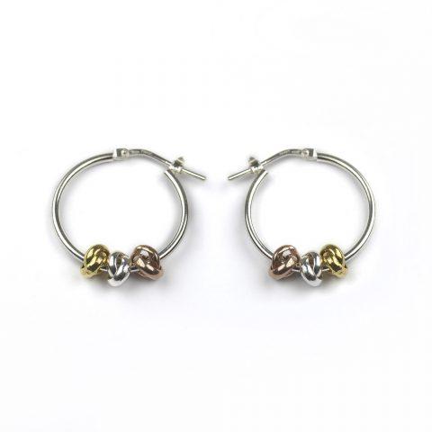 Three Knots Earrings