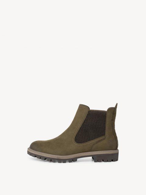 Tamaris Olive Chelsea Boots