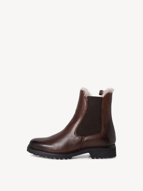 Tamaris Fur Chelsea Boots