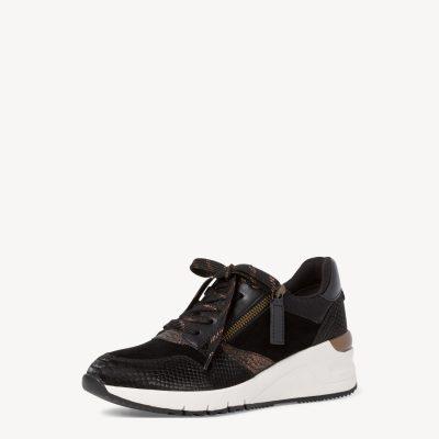 Tamaris Black Bronze Sneakers