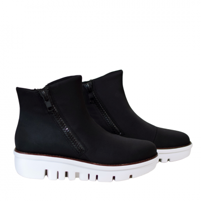 Fitflop Chunky Zip Lycra Boots
