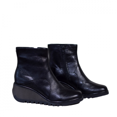 Fly London Nest Wedge Boots