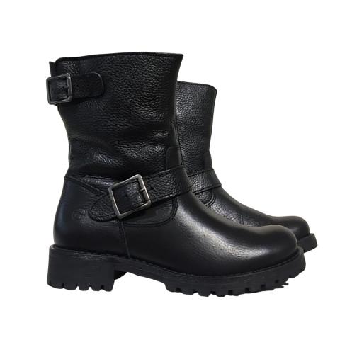 Tamaris Leather Biker Boot
