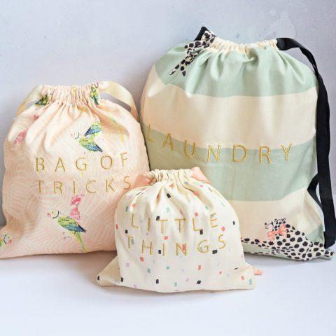 Yvonne Ellen Cotton Bag Set